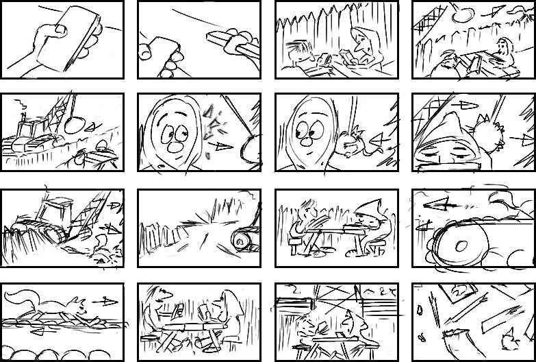 Beat Board Or Storyboard  Animation Essentials